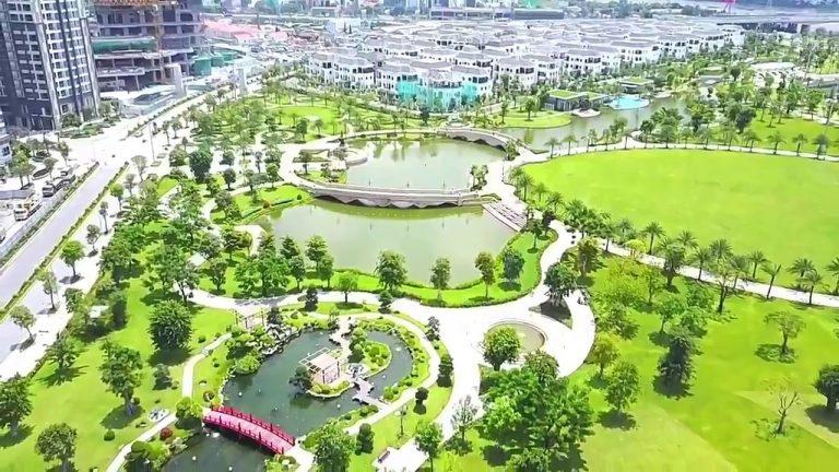 Công viên central park rộng 14ha