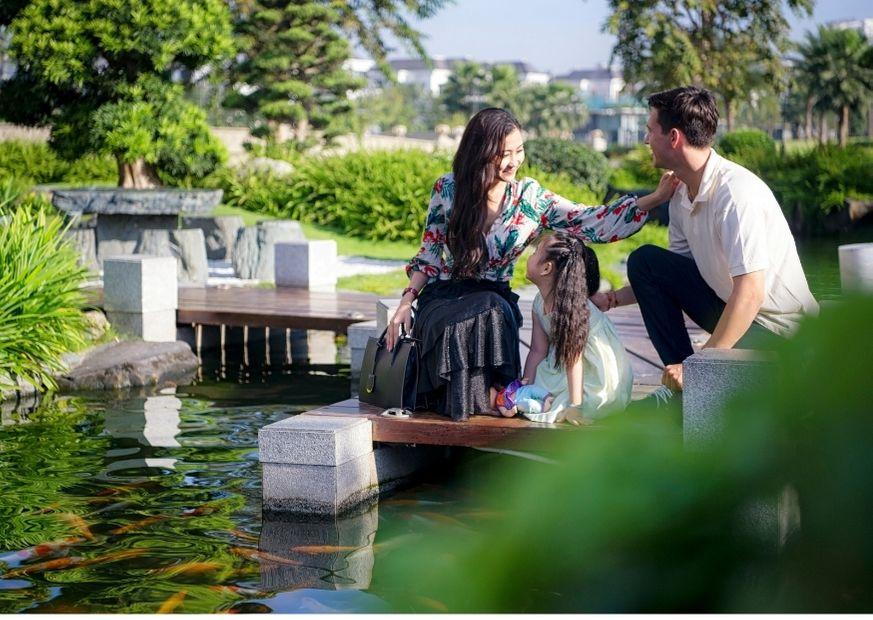 Hồ cá Koi vườn Nhật bản