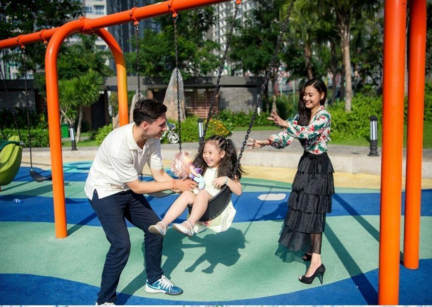 Khu vui chơi cho bé tại Vinhomes Central Park