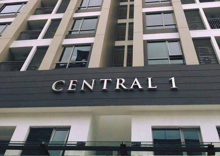Tòa Central 1 với đa dạng shophouse
