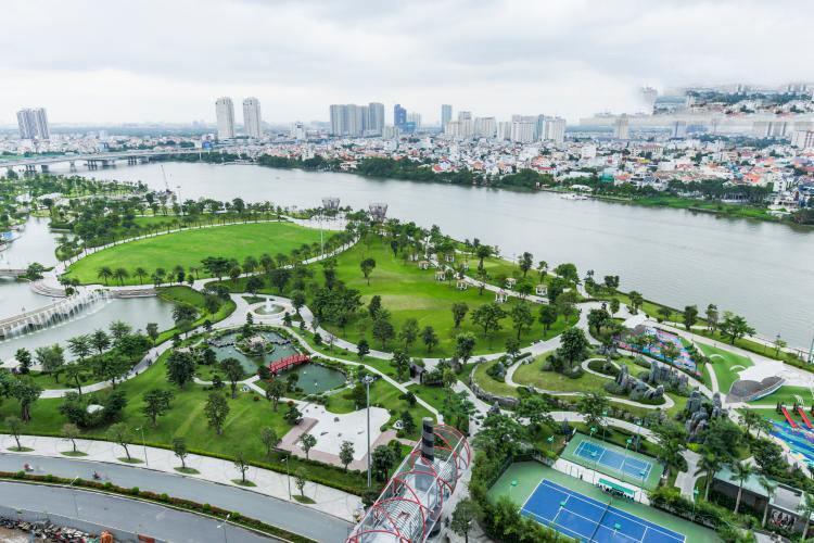 View công viên
