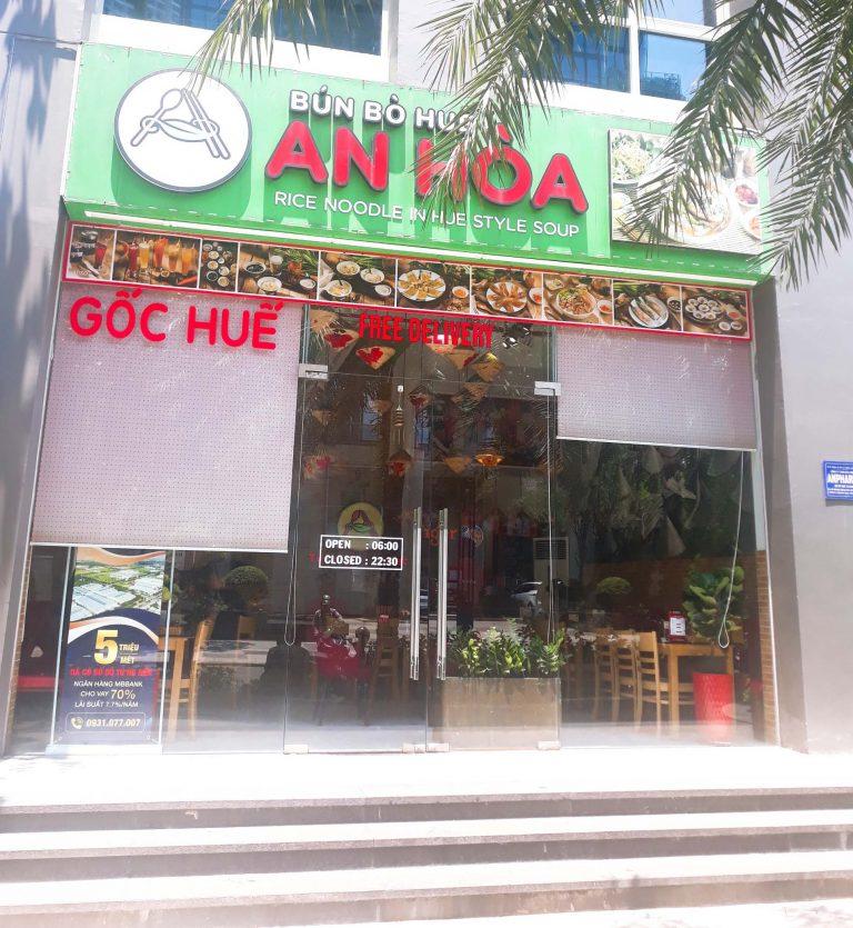 Bún Bò Huế An Hòa