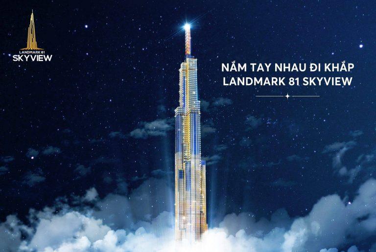 Mở rộng tầm nhìn với skyview Landmark 81