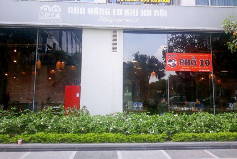 Nhà hàng cơ khí Hà Nội