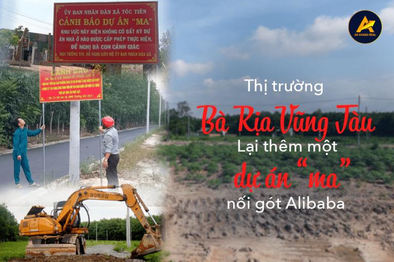 Thị trường Bà Rịa - Vũng Tàu lại thêm dự án ma