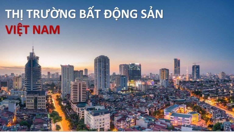 Thị trường bất động sản Việt Nam qúy I.2021