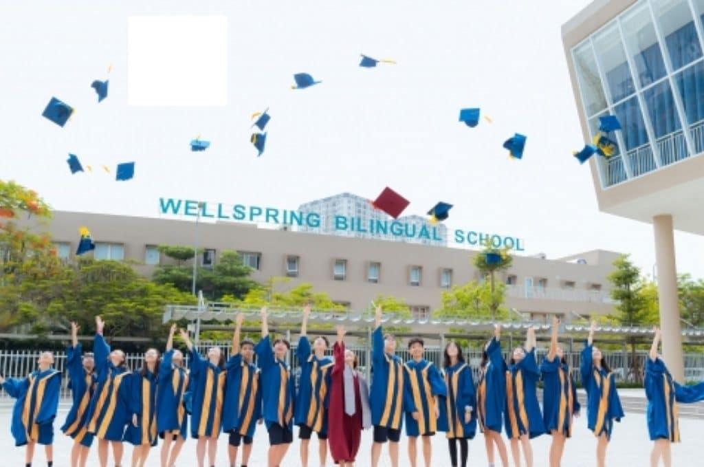 Học sinh trường Wellspring