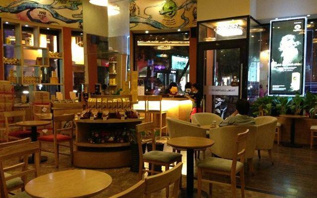 Trung Nguyên coffee VIncom Đồng Khởi